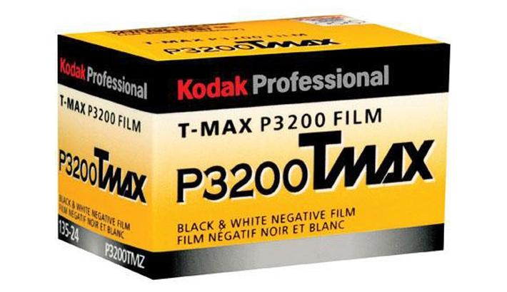 Kodak Discontinues T-Max P3200 Film