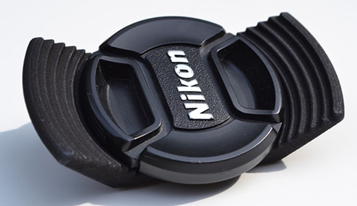 The Stow-Away Lens Cap Holder