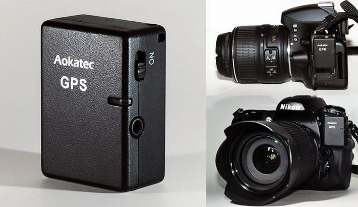 New Aokatec AK-G GPS receiver for Nikon DSLRs