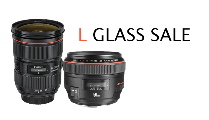Big Sale on Four Popular Canon L Glass Lenses