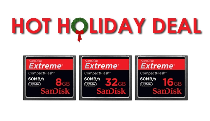 Up To 70% Off SanDisk Compact Flash Memory Cards