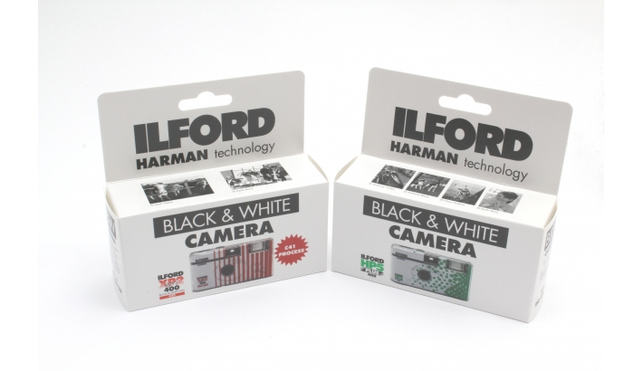 Ilford Introduces Two New Black & White Disposable Cameras