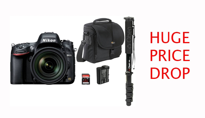 Major Nikon Discounts Effective Tonight: D600, D800 & D800e