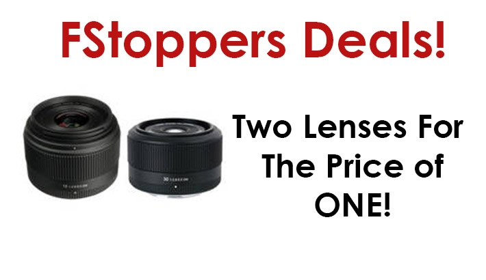 Get Two Lenses For The Price Of One!
