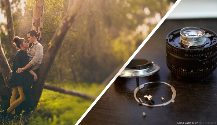Free-Lensing: Turn Your Old Lens Into a Tilt-Shift Lens