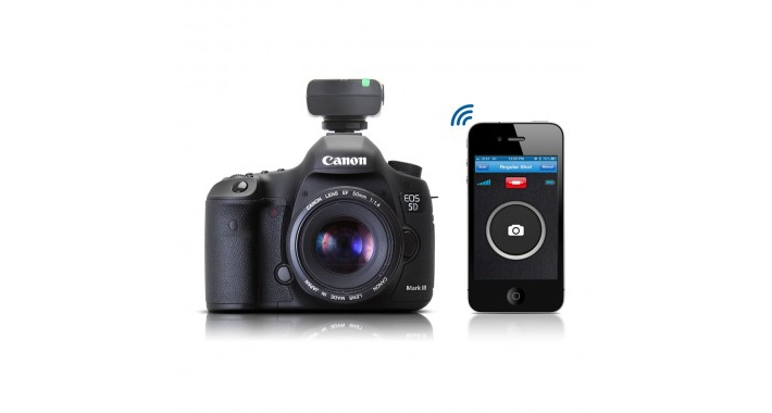 iPhone App Turns Your Phone Into Camera Remote