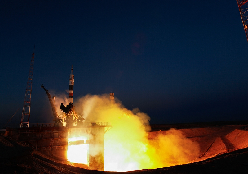 Expedition 34 Launch