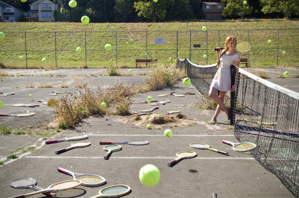 Anyone for a spot of tennis?