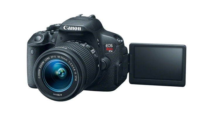 Canon Upgrades Popular Rebel Series with the T5i