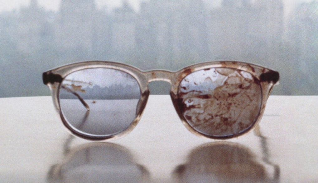 Photo of John Lennon's Glasses: A Plea on Gun Violence