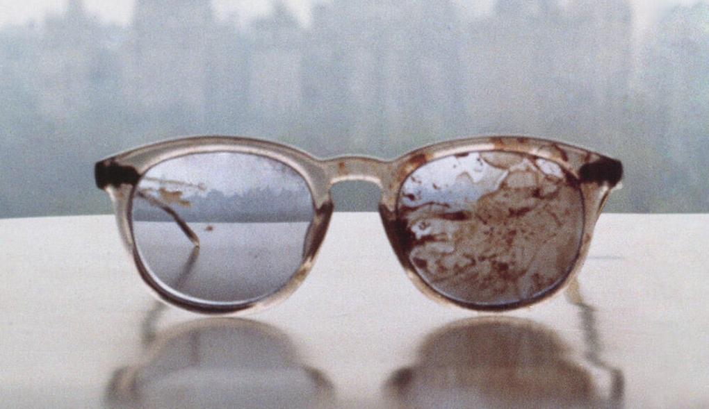 Photo of John Lennon's Glasses: A Plea on Gun Violence