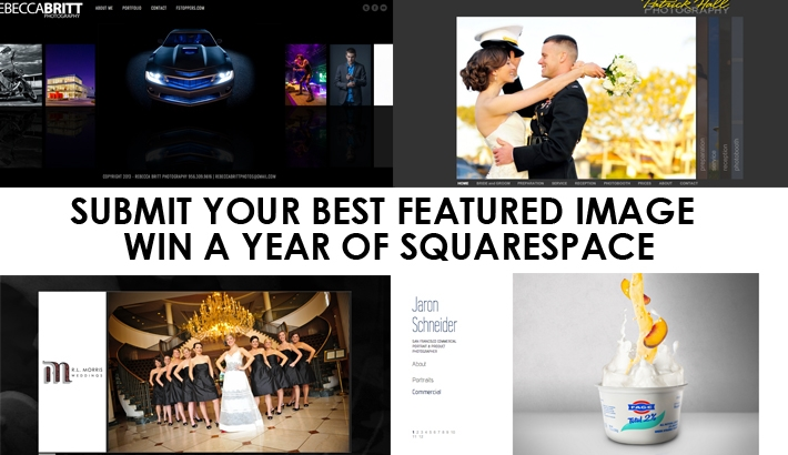"LAST CHANCE: Submit Your Best ""Featured Image"" and Win a Year of SquareSpace"