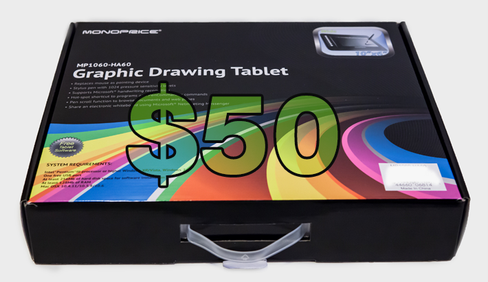 inexpensive graphics tablet 3
