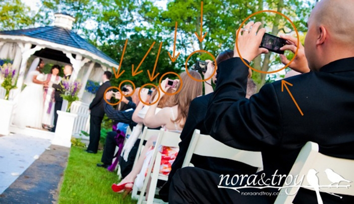 """Unplugged Weddings"":  Preventing Guests From Destroying Your Photographs"