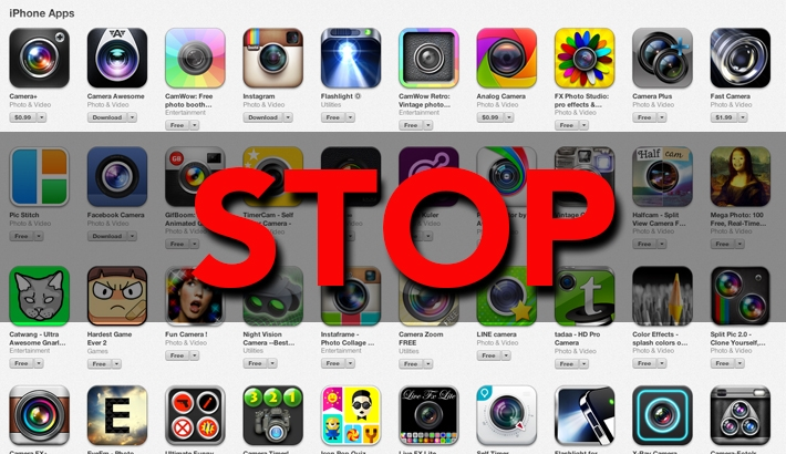 App Developers: Stop Making Photo/Video Apps!