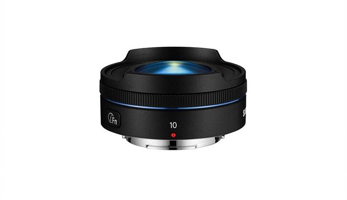 Samsung Goes Slim with Thinnest Fisheye on the Market: 10mm f/3.5