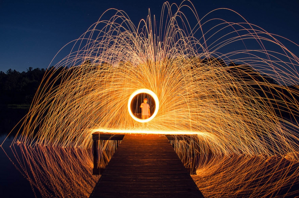 Spinning Fire