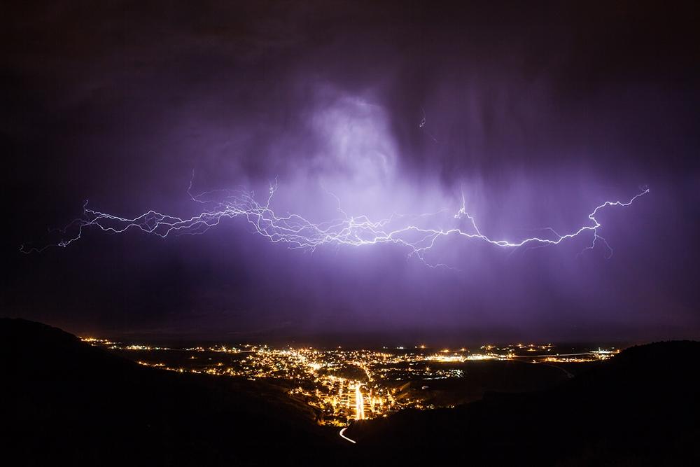 Lightning Over Ely