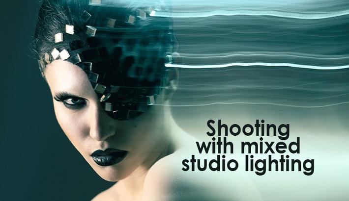 Shooting With Mixed Studio Lighting