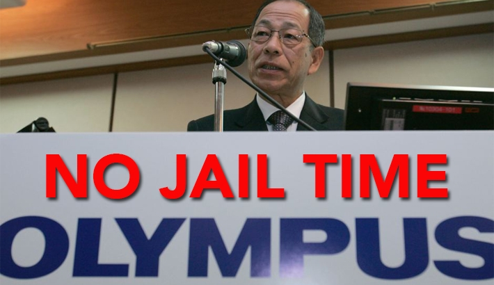 No Jail Time for Olympus Execs behind $1.7 Billion Accounting Scandal