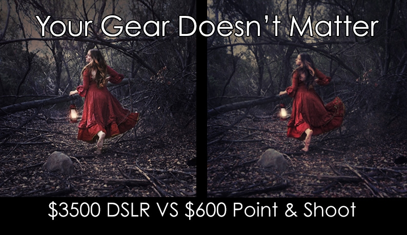 Why Your Gear Might Be Holding You Back From Being A Better Photographer