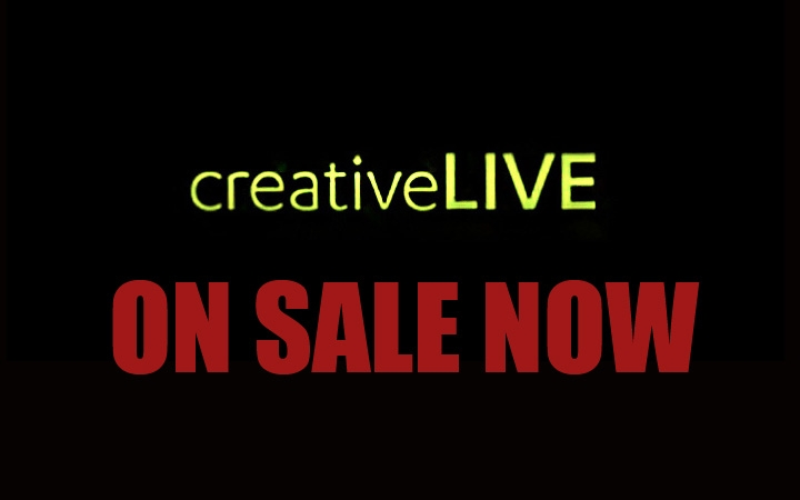 Every Workshop Is Currently On Sale At creativeLIVE