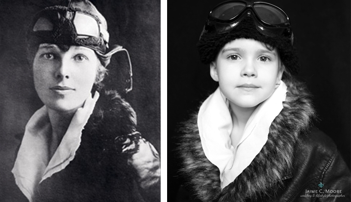 Mom Recreates Iconic Women's Portraits With Her 5-Year-Old Daughter