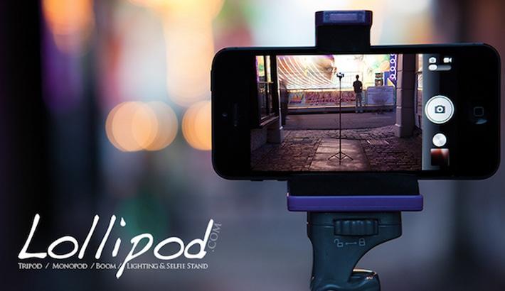 The Lollipod: An All-in-One Tri-Mono-Selfie-Boom-Pod