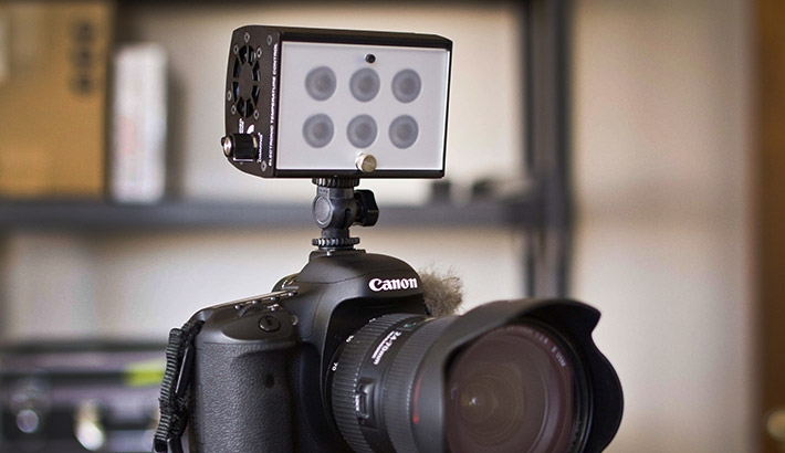 Looking For A Low Cost On Camera Light? This New, High Output LED Might Be For You