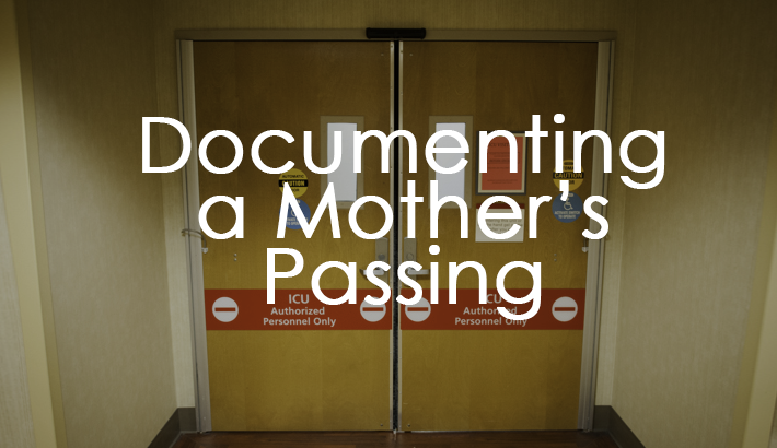 Photographer Abe Van Dyke Documents His Mother's Passing