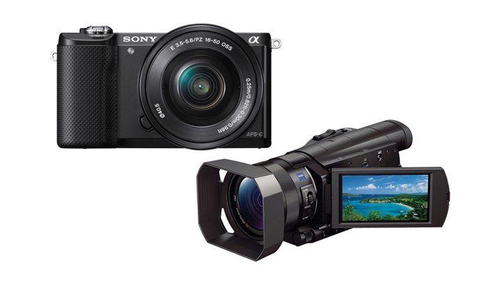 Sony Announce A New Mirrorless Camera and 4k Camcorder