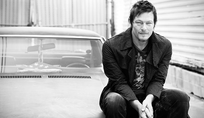 Walking Dead Star Norman Reedus Replaces Crossbow with Camera