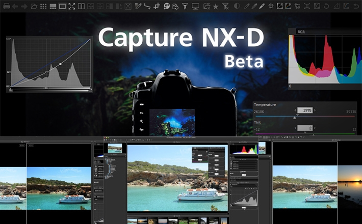 New Nikon Capture NX-D RAW Processing Software