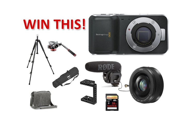 Last Chance To Win The Ultimate Blackmagic Pocket Cinema Kit