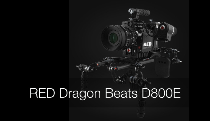 RED Epic Dragon Bests Nikon D800E on DxOMark