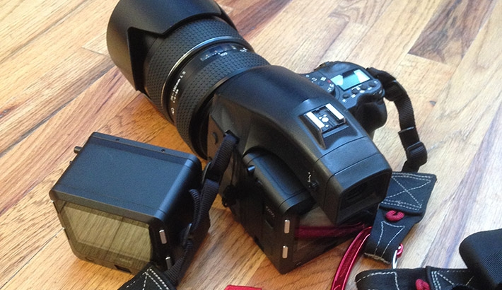 Review Of The Phase One IQ250 Medium Format CMOS Back