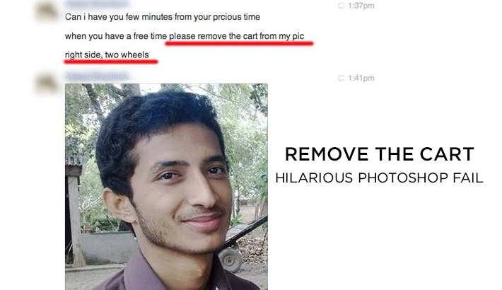 Photoshop Fail: Retouching Academy Creates Masterfully Hilarious Edits from a Random Request