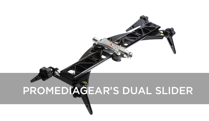 ProMediaGear Takes Their Dual Curved/Straight Slider to Kickstarter
