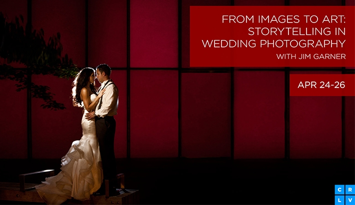 Jim Garner Shares His Wedding Photography Techniques on CreativeLive