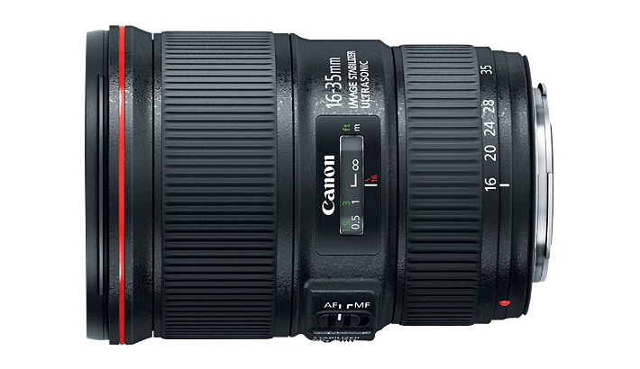 Canon Announces The 16-35mm f/4L IS EF Lens