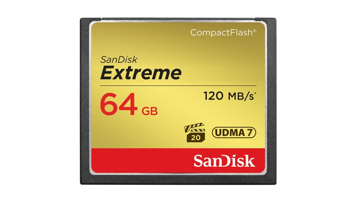 Today Only - Grab Sandisk CF Cards at Deeply Discounted Prices