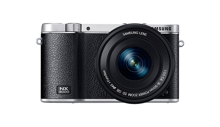 Samsung Adds New Consumer-Level Retro-Designed Camera to Lineup: NX3000