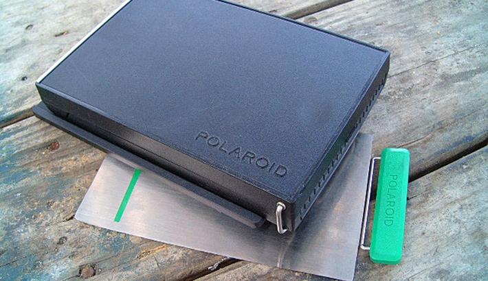 """Nearly New"" Polaroid 405 4x5 Instant Film Back on Kickstarter"