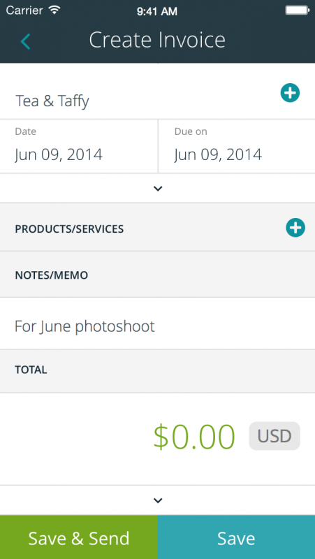 Wave Invoice For IPhone Now Available Fstoppers - Invoice wave