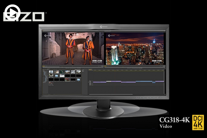 Eizo Raises the Bar with the New 4K 31 Inch Monitor Covering 99% of AdobeRGB