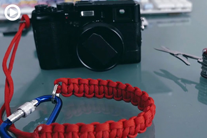 how to make a paracord wrist strap for your camera fstoppers