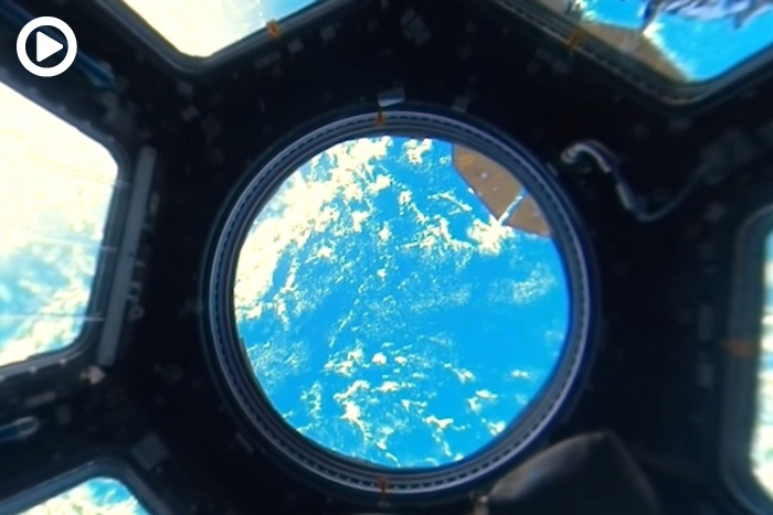 First Ever 360-Degree View of Earth From Inside the ...