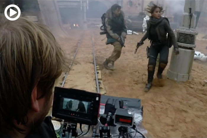 BTS: See How 'Rogue One' Used Virtual Reality Controllers to Guide Virtual Camera Movements