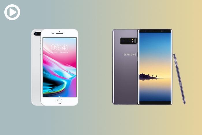 iPhone 8 Plus vs Galaxy Note 8 Camera Comparison