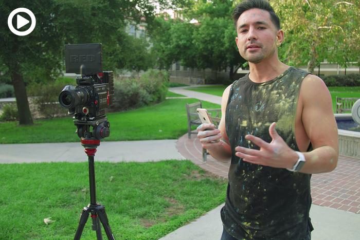 iPhone 8 Vs. $30,000 RED Camera: Slo-Mo Showdown